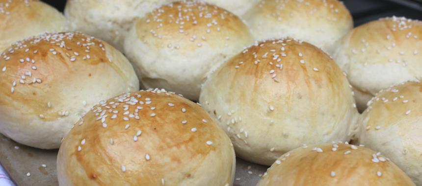 Geile Hamburger Brötchen: Brioche Burger Buns